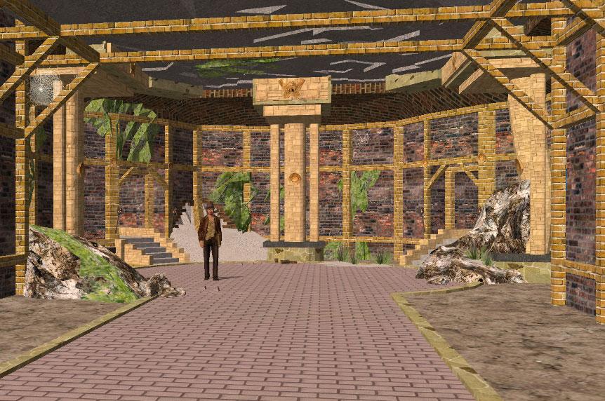 Indiana Jones Temple Prop - TheMovies3D com